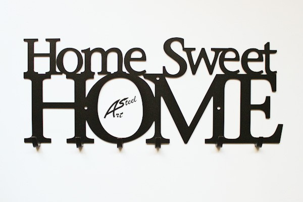 Home sweet home art steel Home ubrania