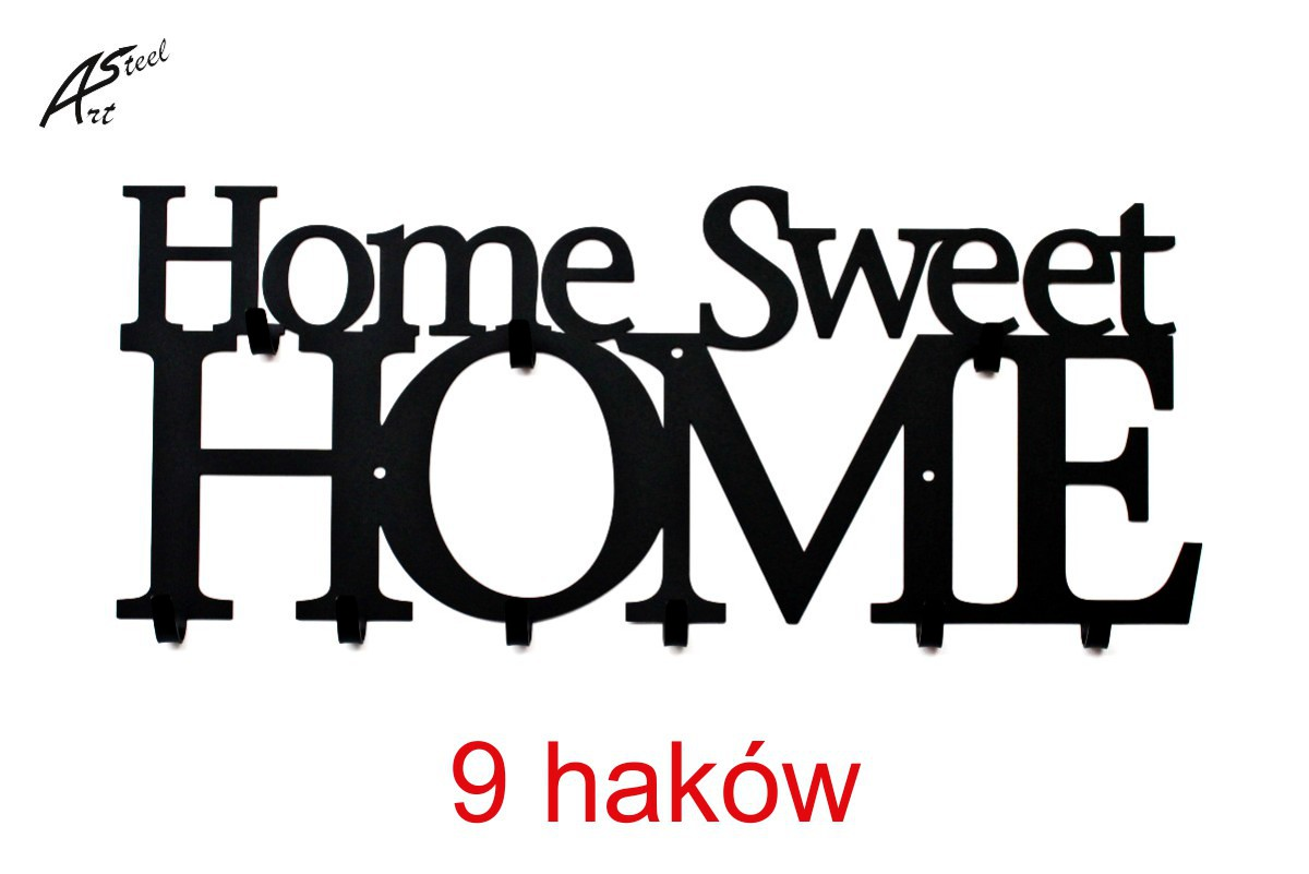 Home Sweet Home 9 haków Art-Steel