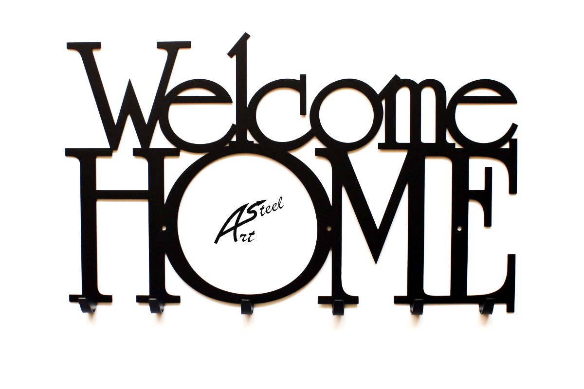 Welcome Home Art-Steel